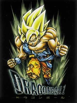 Dragonball Z Son Goku Blond Hair Poster Plakat 3 1 Gratis Bei