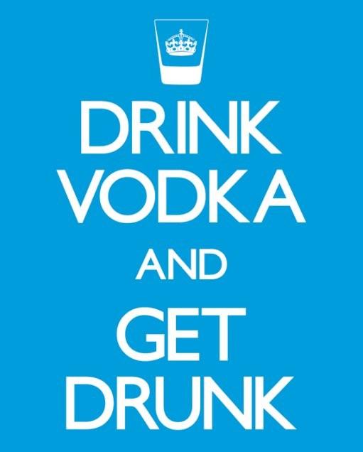 ... > Scegli Poster per Tipo > Mini-Poster > Drink vodka and get drunk