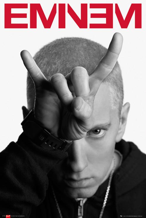 Póster  Eminem - horns