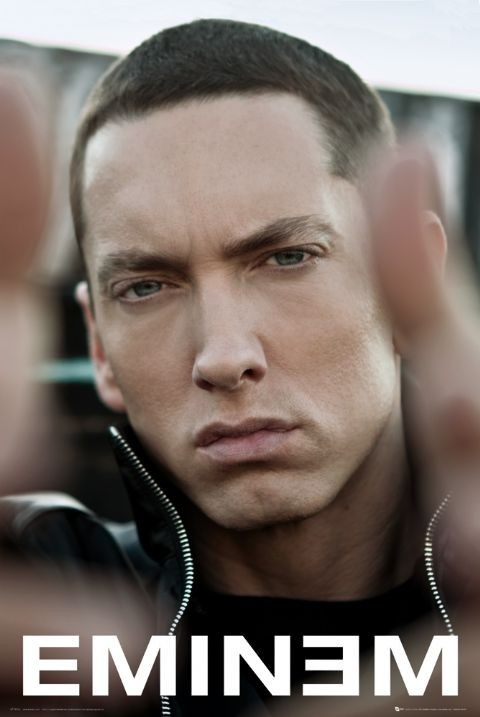 Poster Eminem - recovery