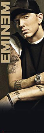 Poster Eminem - tattoo