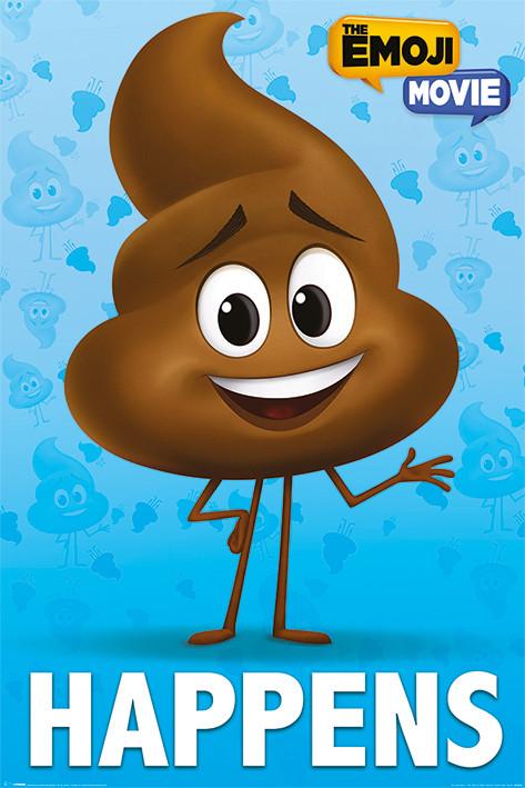 🤩 Emoji: La película - Poop Happens Póster, Lámina | Compra en ...