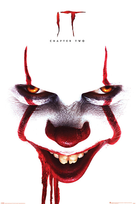 Poster Es Kapitel 2 - Pennywise Face