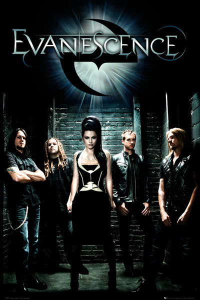 Poster Evanescence - band