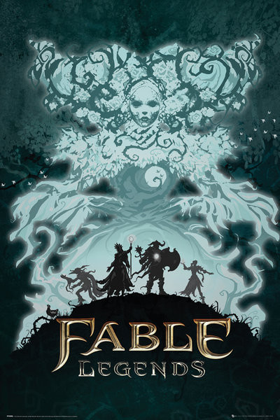 Poster Fable Legends - White Lady