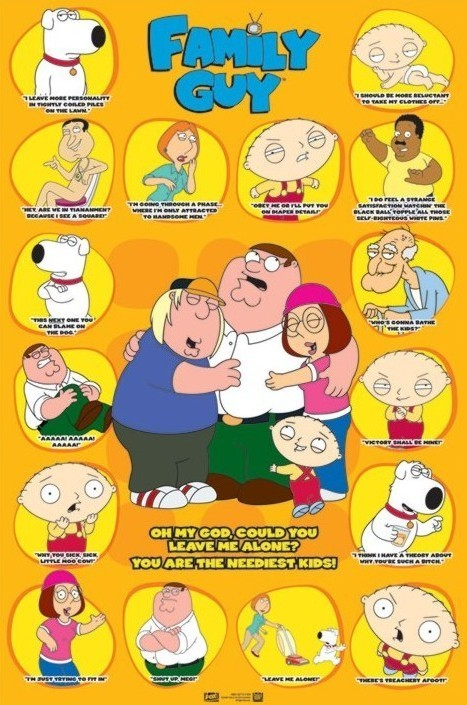 Guy Quotes | Family Guy Quotes 3 Poster Plakat 3 1 Gratis Bei Europosters