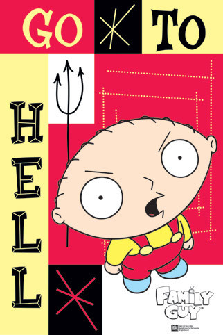 FAMILY GUY - Stewie Poster / Kunst Poster