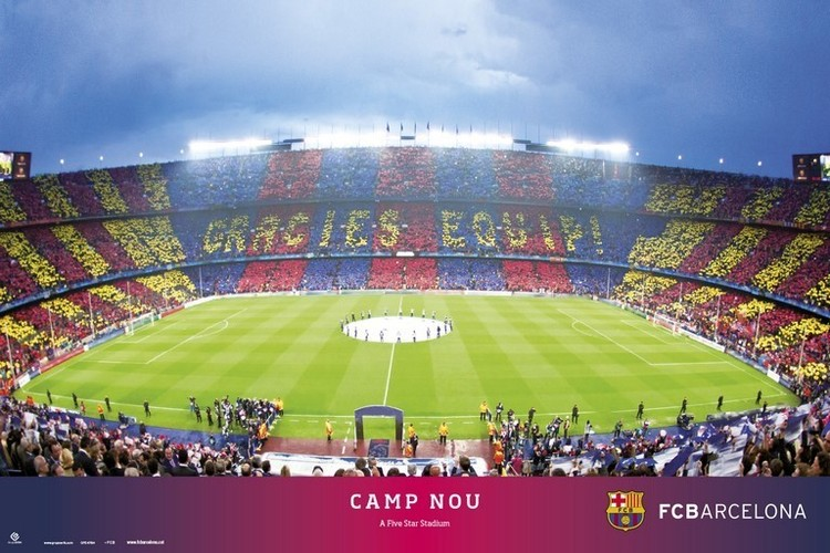Poster  FC Barcelona - Camp NOU