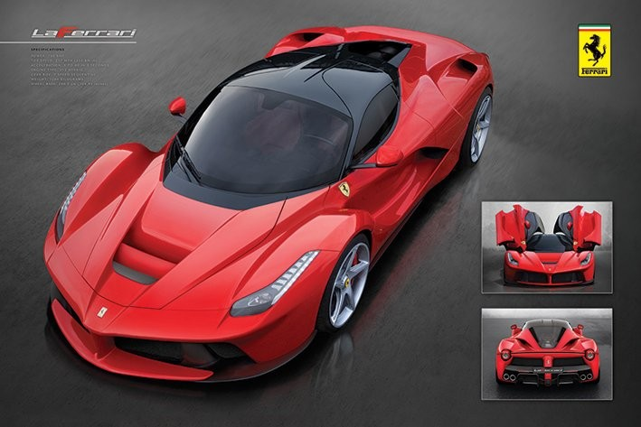 Poster Ferrari - la Ferrari