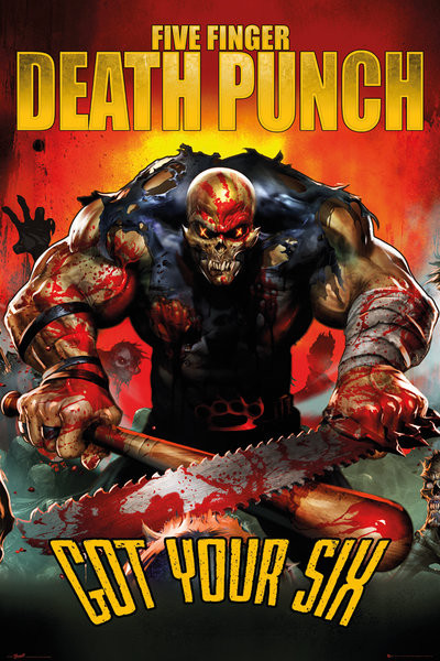 Poster Five Finger Death Punch - Got Your Six