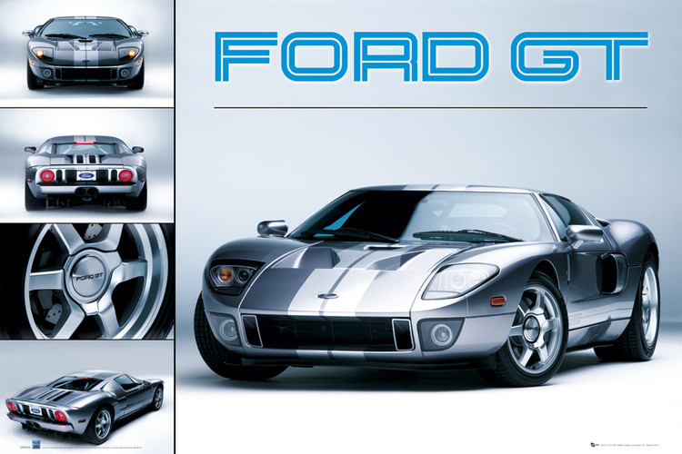 Poster Ford GT