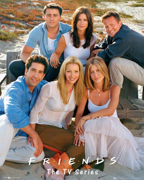Poster FRIENDS - cast