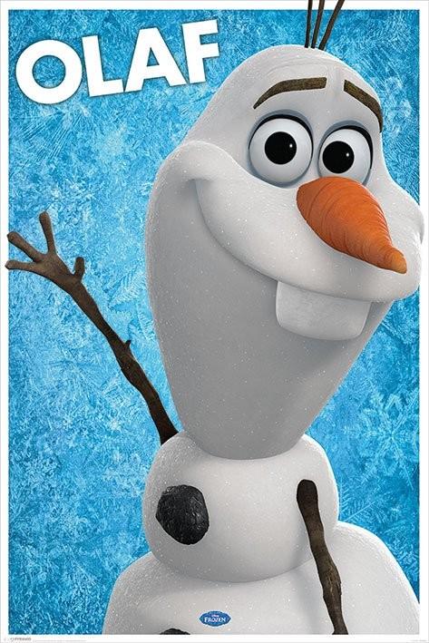 Póster Frozen, el reino del hielo - Olaf