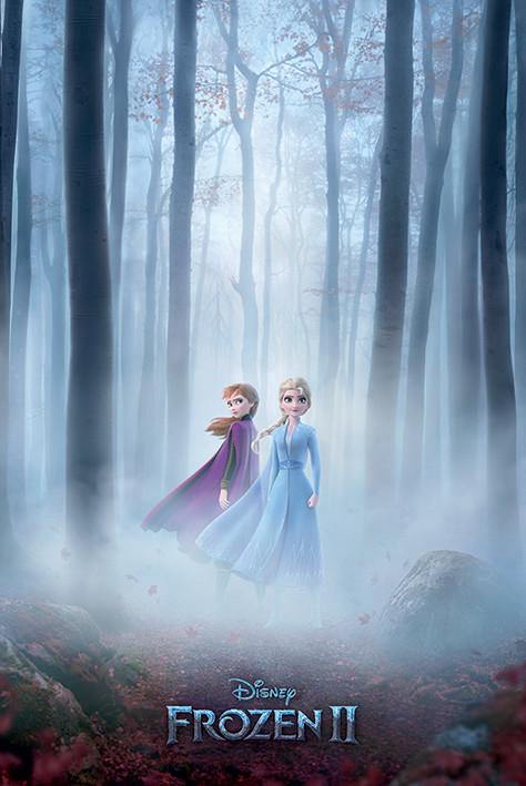 Poster Frozen: Il regno di ghiaccio 2 - Woods