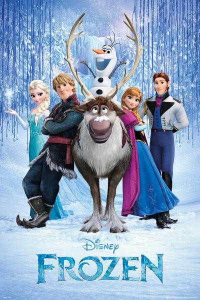 Poster Frozen - Il regno di ghiaccio - Teaser