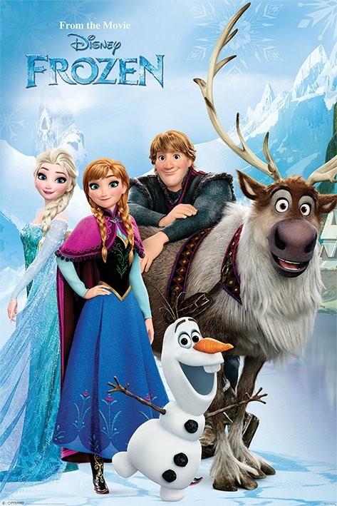 Frozen Lakeside Poster