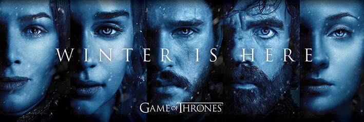 Game Of Thrones Winter Is Here Poster Plakat 3 1 Gratis Bei
