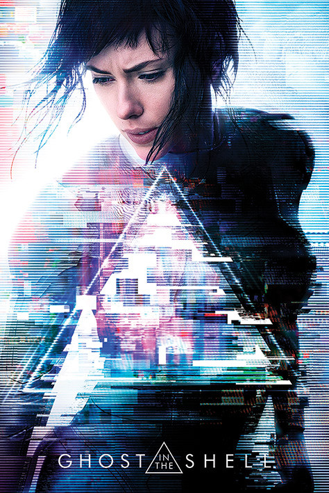 Ghost In The Shell One Sheet Poster Plakat 3 1 Gratis Bei Europosters