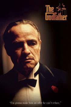 Poster GODFATHER - offer
