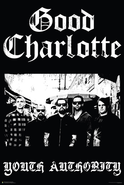 Poster Good Charlotte - Youth authority