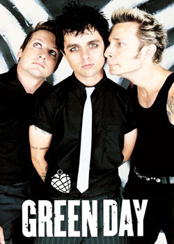 Poster Green Day - group