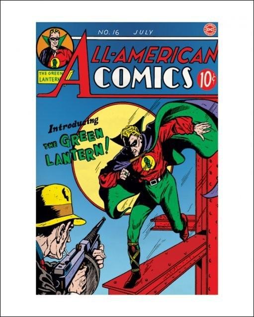 Green Lantern Kunstdruk