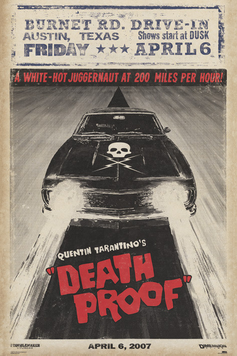 Poster GRINDHOUSE - car