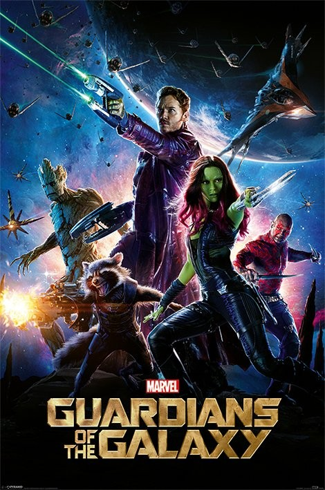 Poster Guardiani della Galassia - One Sheet