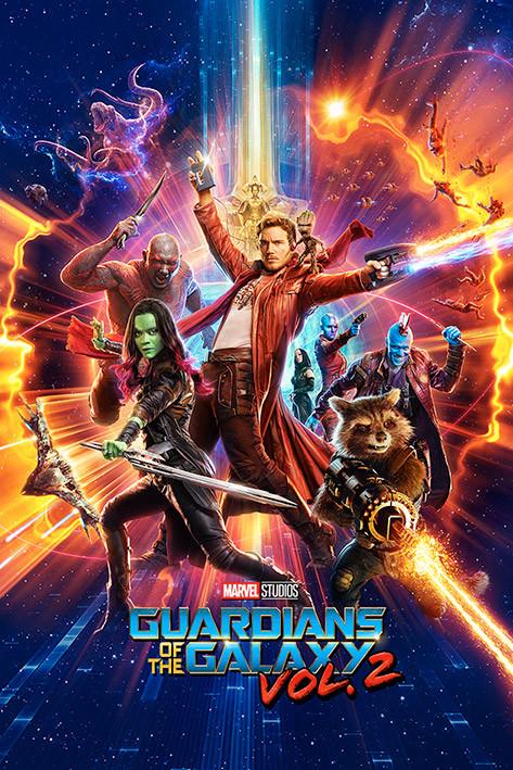 Poster Guardiani della Galassia Vol. 2 - One Sheet