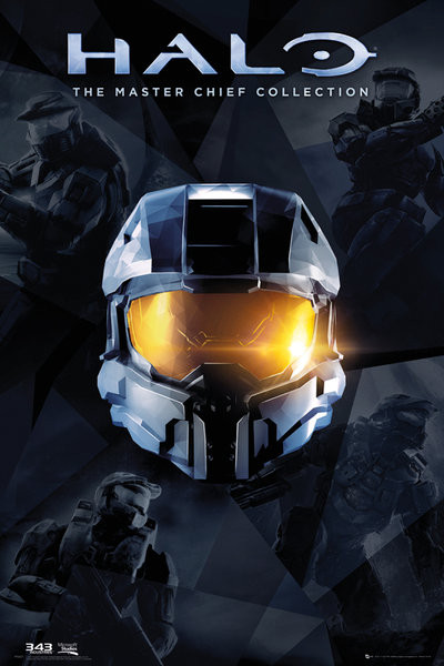 Poster Halo - Master Chief Collection