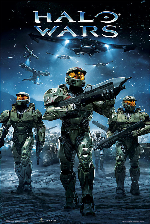 Halo Wars - army Poster