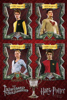 HARRY POTTER 4 - triwizard tournament poster, Immagini, Foto