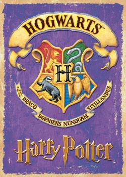 Poster HARRY POTTER - school badge