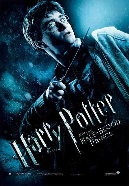 Poster  Harry Potter und der Halbblutprinz - Harry with Magic Wand