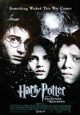 Póster Harry Potter y el prisionero de Azkaban