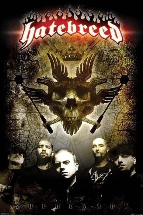 Poster Hatebreed - supremacy