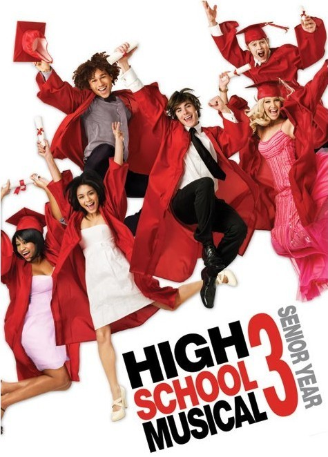 Póster HIGH SCHOOL MUSICAL 3 - graduation jump