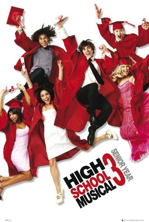 Poster HIGH SCHOOL MUSICAL 3 - one sheet