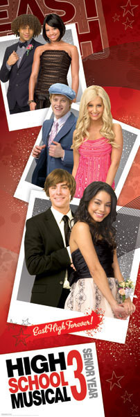 Poster HIGH SCHOOL MUSICAL 3 - promo photos