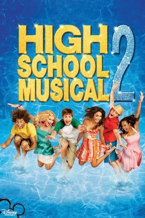 Poster HIGH SCHOOL MUSICAL - pool