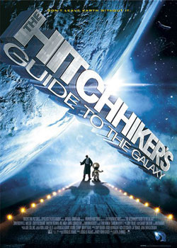 Poster Hitchhikers - Guide to Galaxy - one sheet