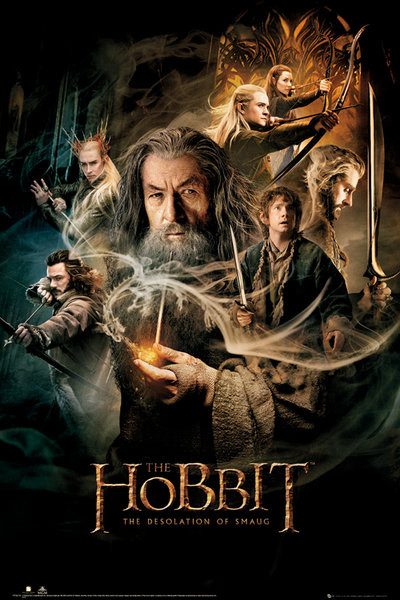 Poster HOBBIT DOS - one sheet