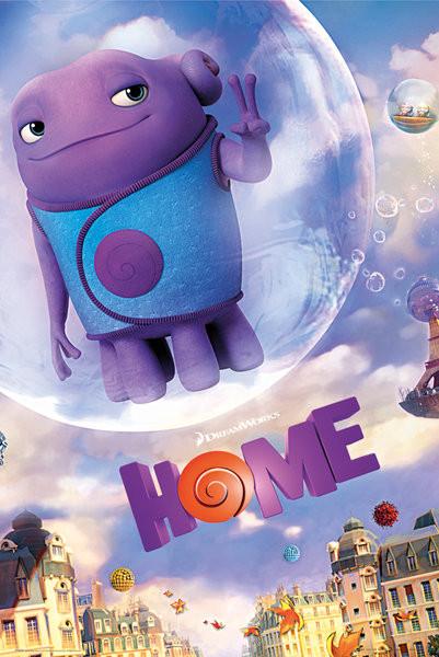 Póster Home (Película, 2015) - One Sheet
