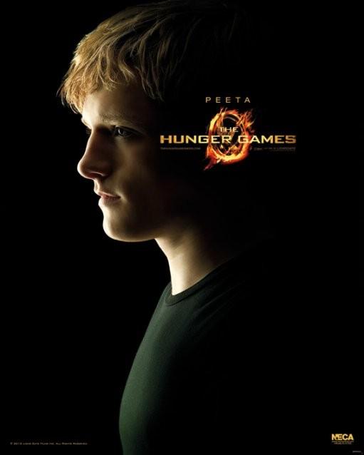 Poster HUNGER GAMES - Peeta