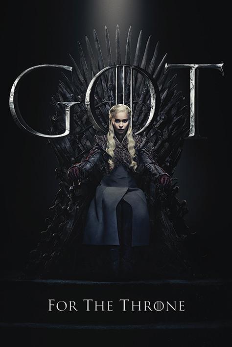 Poster  Il Trono di Spade - Daenerys For The Throne