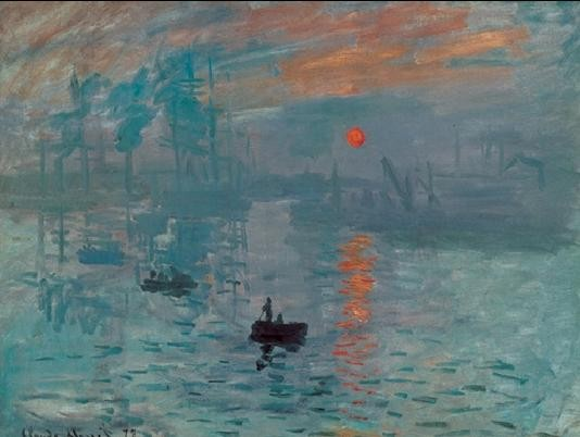 Impression, Sunrise - Impression, soleil levant, 1872 Kunstdruk