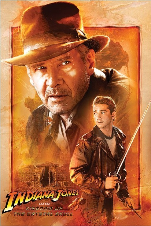 Poster INDIANA JONES - kingdom of the crystal skull