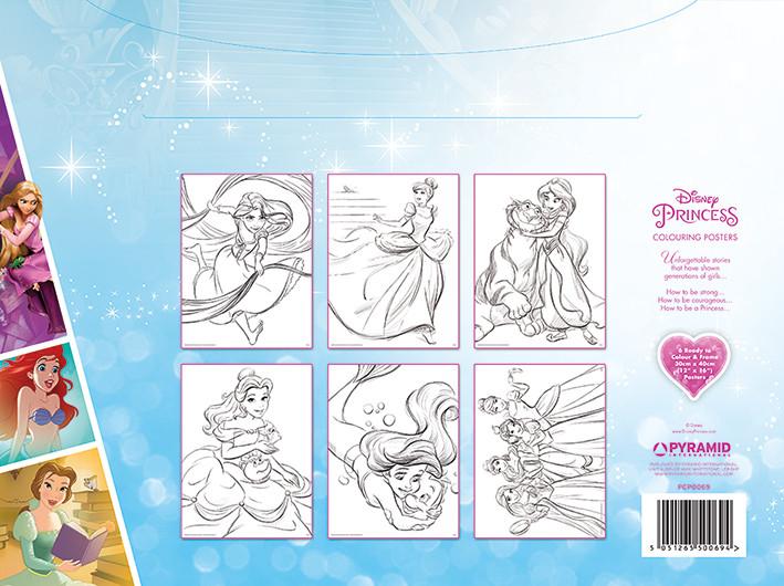 Disney - Princess  Inkleur Poster