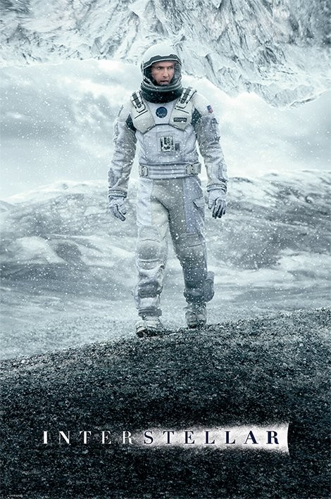 Poster Interstellar - Ice Walk