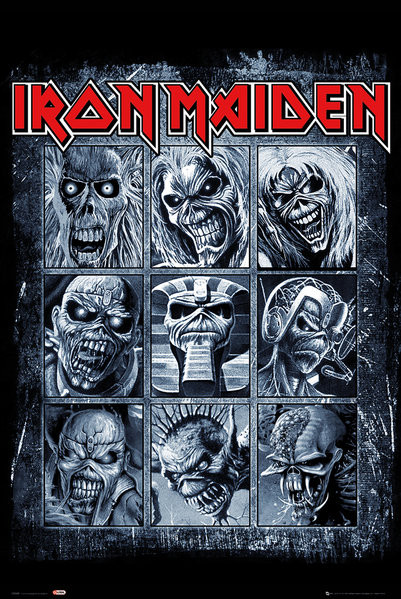 Póster  Iron Maiden - Eddies